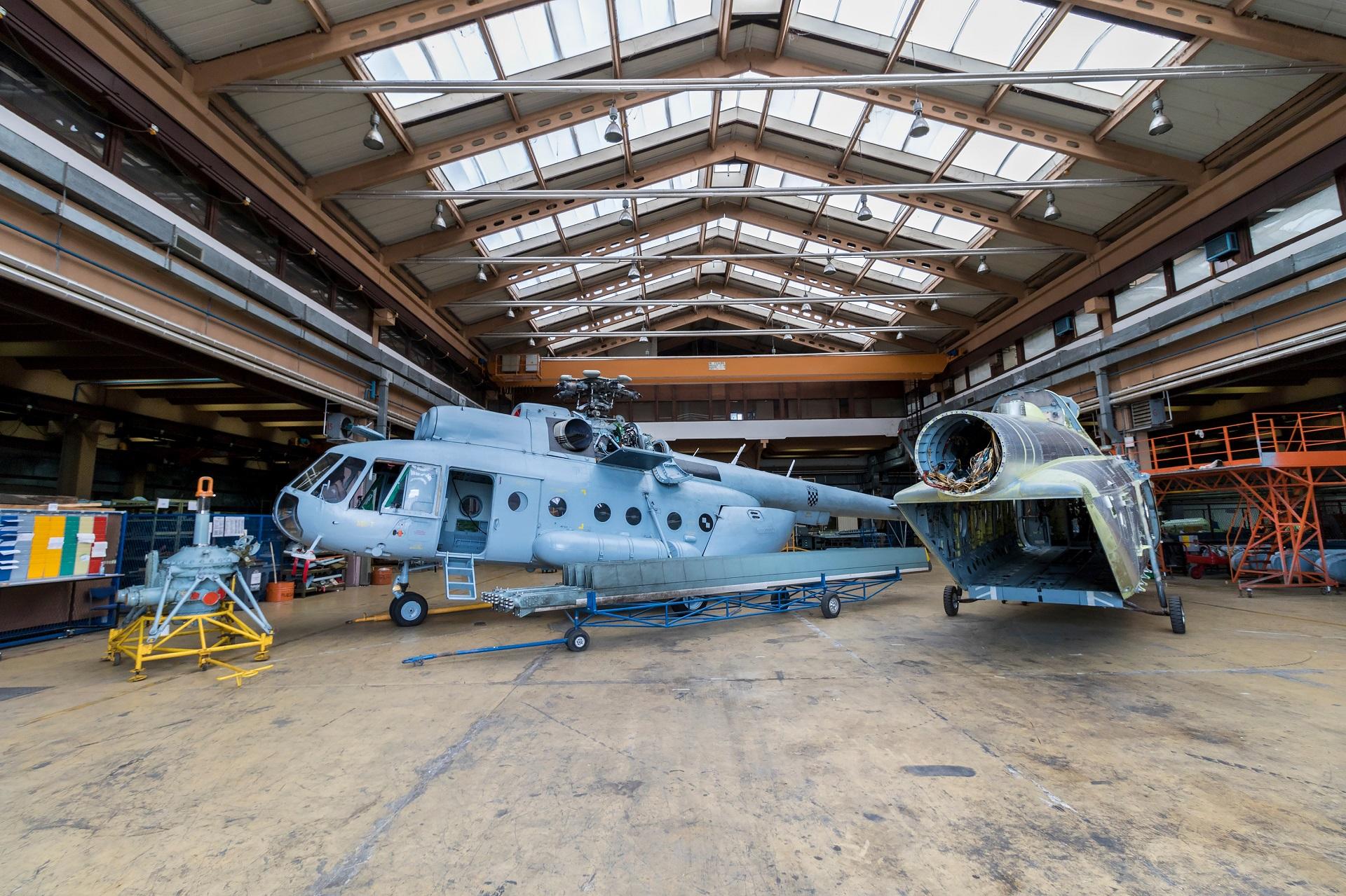 Izrada modifikacije za transportnu kabinu helikoptera